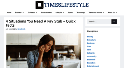 timeslifestyle.net - timeslifestyle - an array of frolic buzz!