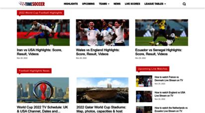 timesoccer.com - soccer highlights - watch latest football video free