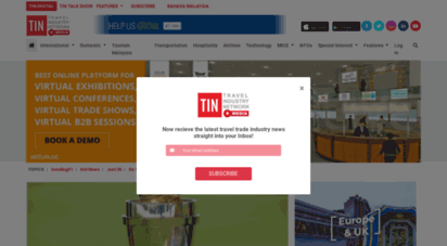 tin.media - malaysia´s first independent travel trade media  tin media