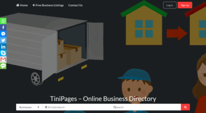 tinipages.com - tini pages - india´s business directory