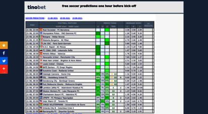 tinobet.com - tinobet - soccer predictions 1x2 for today