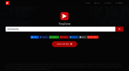 tinyzone.tv - watch free movies online and stream free hd movies - tinyzone