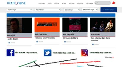 tiyatronline.com - tiyatronline web sayfalarına hoş geldiniz