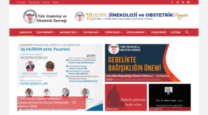 tjod.org - türk jinekoloji ve obstetrik derneği - tjod