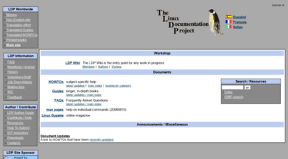 tldp.org - the linux docmentation project