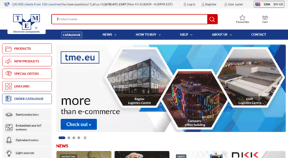 tme.eu - elektronische teile. vertriebshändler und onlineshop - transfer multisort elektronik