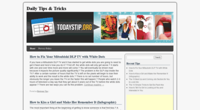 todaystip.org - daily tips and tricks