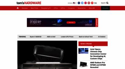 tomshardware.com - tom´s hardware: for the hardcore pc enthusiast