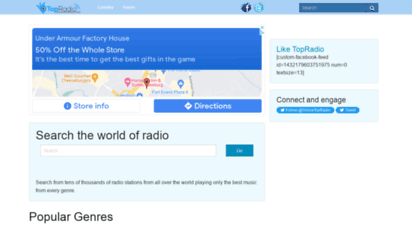 top-radio.org - topradio: listen to your favorite radio station from any in the world.