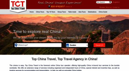 topchinatravel.com - top china travel agency, chinese travel agency, top china tours