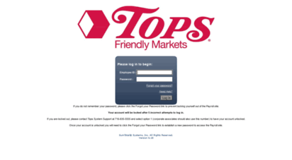 topsmarkets.sumtotalsystems.com -