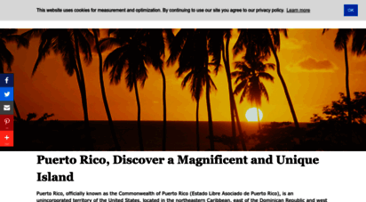 topuertorico.org - welcome to puerto rico! history, government, geography, and culture