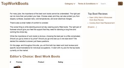 topworkboots.com