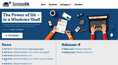 tortoisegit.org - tortoisegit - windows shell interface to git