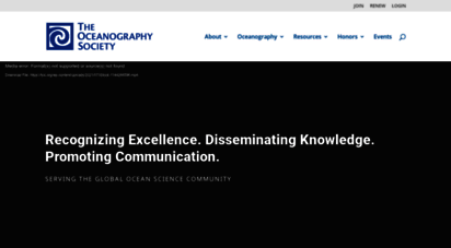 tos.org - the oceanography society  the oceanography society