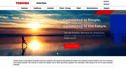 toshiba.com - toshiba  business to business integrated solutions