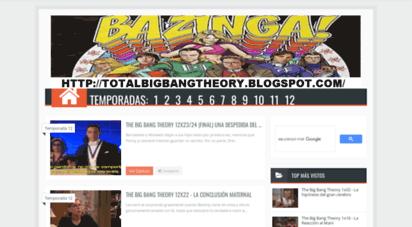 totalbigbangtheory.com - total big bang theory  español latino