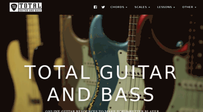totalguitarandbass.com - home - total guitar and bass