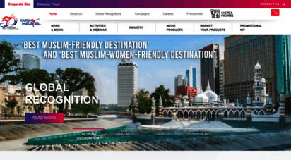 similar web sites like tourism.gov.my