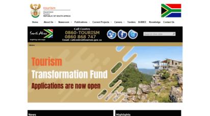 tourism.gov.za -