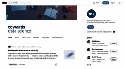 towardsdatascience.com - towards data science