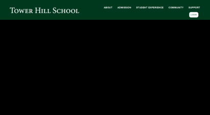 Welcome To Towerhillorg Tower Hill School L Private College Prep