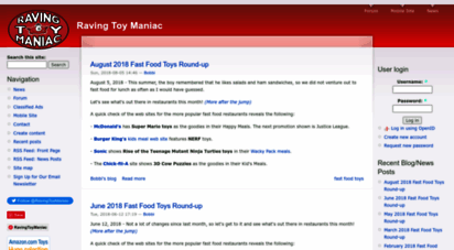 toymania.com - raving toy maniac  the magazine for your inner child