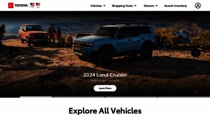 toyota.com - new cars, trucks, suvs & hybrids  toyota official site