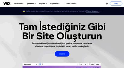 tr.wix.com - bedava site kur  ücretsiz web sitesi nasıl kurulur  wix