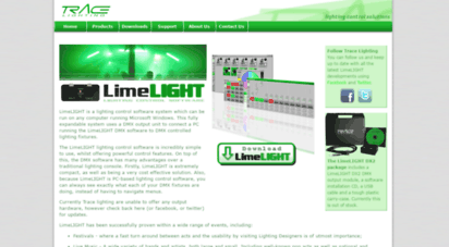 Welcome to Tracelighting com - LimeLIGHT | Lighting Control Software