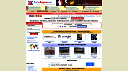 tradeaegea.com - turkey, greece, cyprus, italy, spain, france importers exporters - mediterranean b2b marketplace - tradeaegea.com