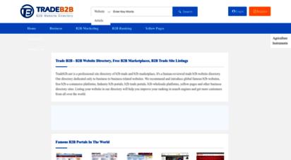 tradeb2b.net - b2b marketplace,b2b trade site listings - trade b2b directory