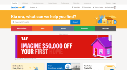 trademe.co.nz - buy online and sell with nz´s 1 auction & classifieds site  trade me