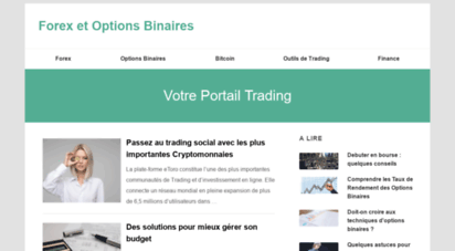 trader en binaire