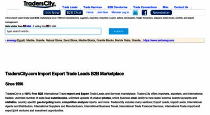traderscity.com - traderscity.com - import export b2b trade leads