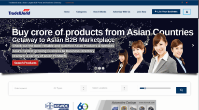 tradeworld.asia - b2b portal asia, b2b marketplace asia, online business directory asia