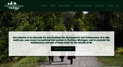 trailscouncil.org - top of michigan trails council - millersburg groundbreaking