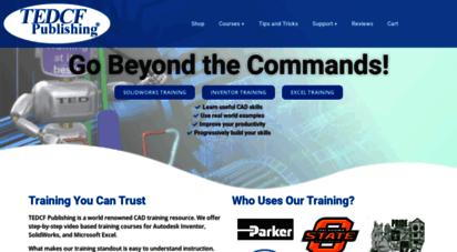 trainingtutorial.com - solidworks & autodesk inventor training tutorials by tedcf