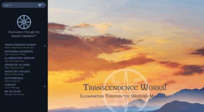 transcendenceworks.com - western mystery tradition  transcendence  illumination