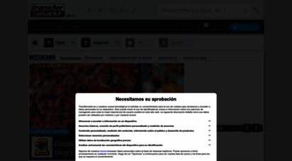 transfermarkt.es - fichajes de fútbol, rumores, valores de mercado y noticias  transfermarkt