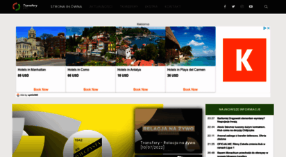 transfery.info - piłka nożna: najnowsze informacje piłkarskie, transfery, wyniki na żywo  transfery.info
