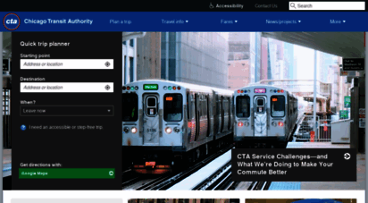 transitchicago.com - chicago transit authority - cta buses & train service - 1-888-your-cta - cta