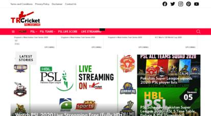 trcricket.com - tr cricket  live cricket matches