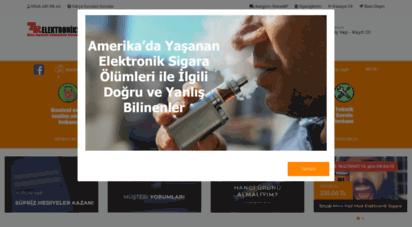 trelektroniksigara.com - tr elektronik sigara