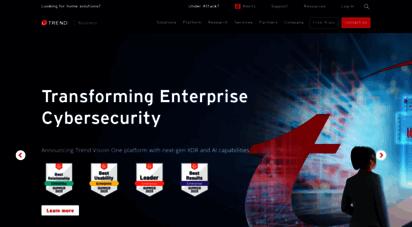trendmicro.com - trend micro de  cybersicherheitslösungen für unternehmen