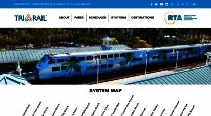 tri-rail.com - south florida regional transportation authority sfrta