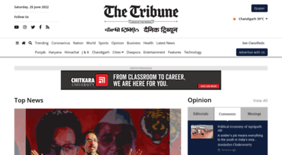tribuneindia.com - latest news s  india live news online  the tribune india