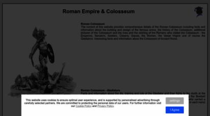 tribunesandtriumphs.org - roman colosseum
