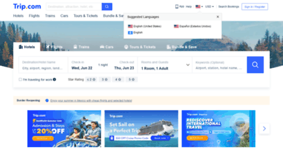 trip.com - offizielle seite der trip.com  flugtickets und hotels günstig buchen, zug günstig buchen
