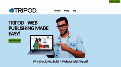 tripod.com - build a free website with web hosting  tripod